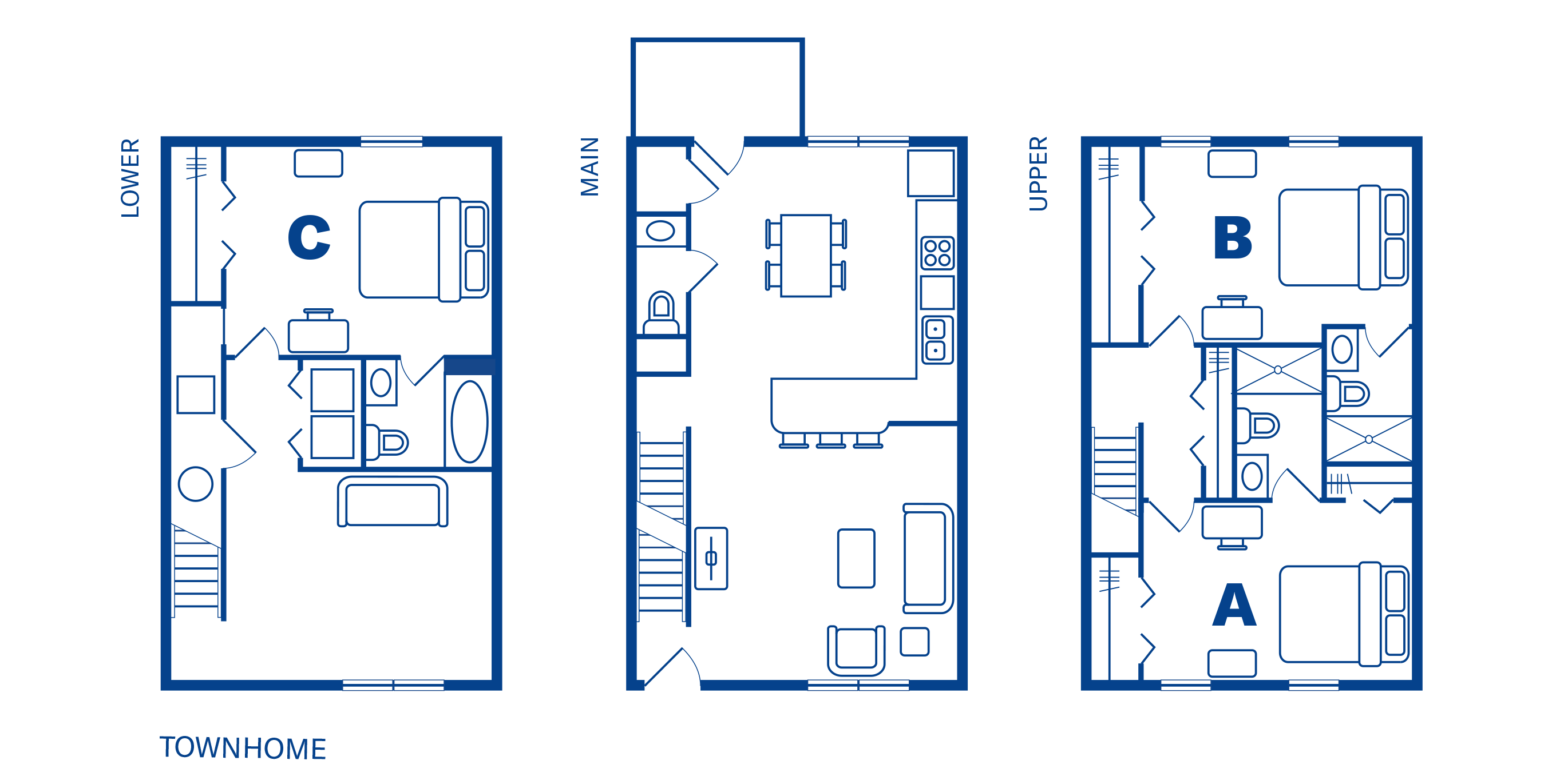 3 Bedroom 3½ Bath